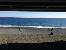 3〜4歳くらいの男の子が海見てめっちゃ興奮してる。そんなに珍しいか? #海 #海photo