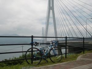 多々羅大橋と愛機