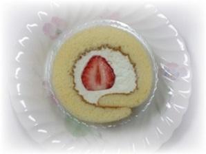 雛ロールケーキ