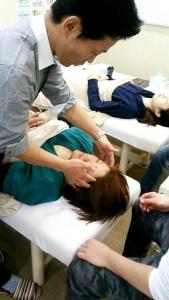 美容鍼灸実技セミナー大阪