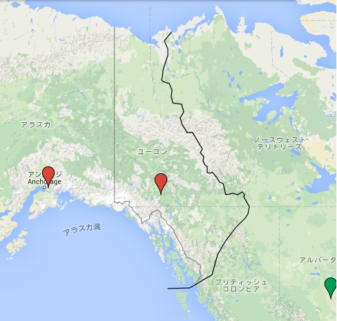 アラスカ国境