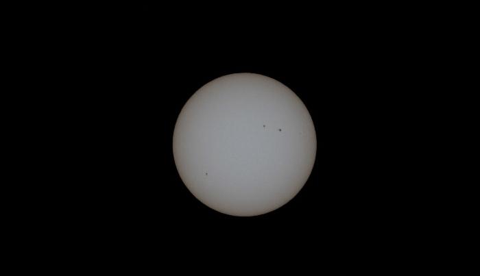 2015年7月11日の太陽面