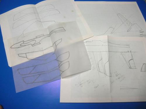 手書き図面4