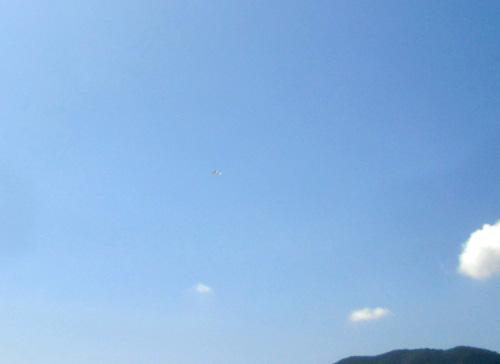 1605の、SALの方、飛行中です。1