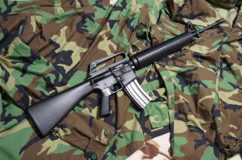 M16A2的なカスタム加工 (3)