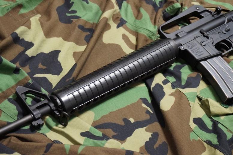M16A2的なカスタム加工 (4)