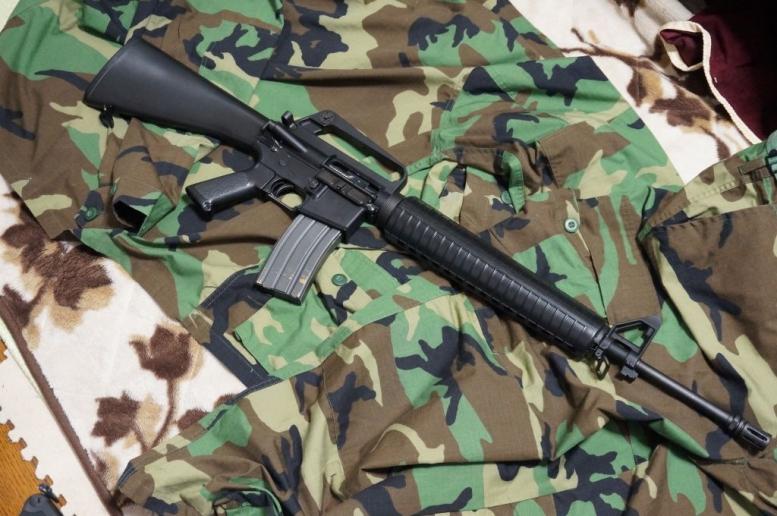 M16A2的なカスタム加工 (6)