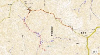 2015.4.26石鎚山中ノ沢