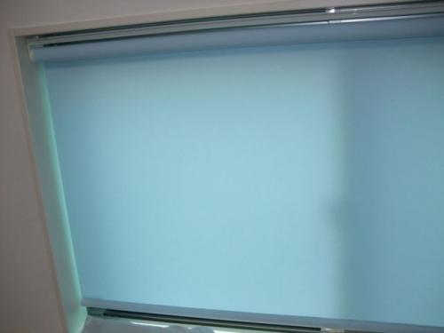 タチカワブラインド マカロンRS-5263ベビーブルー色