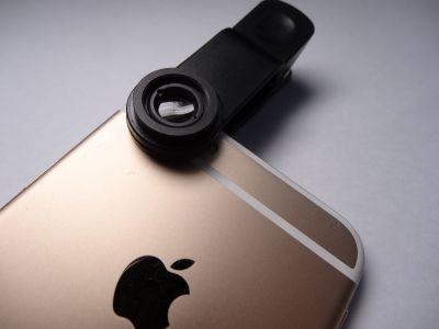 iphone6のセルカレンズ