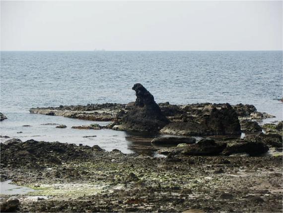 ゴジラ岩_1