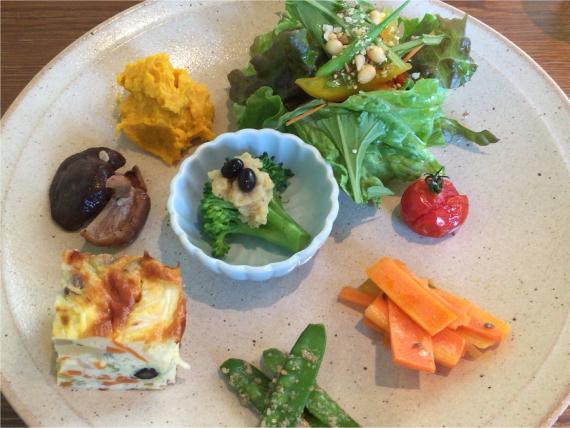 野菜のワンプレート