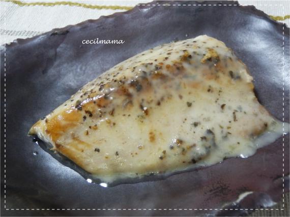 鯖のバジル焼き_2