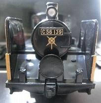 ナンバープレート交換したC56-139号機