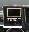 ナンバープレート交換したC56-139号機②