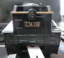 ナンバープレート交換したC56-139号機④