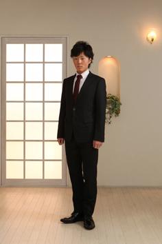 成人男子群馬伊勢崎スーツ1