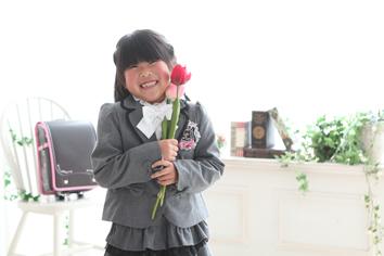 入学写真群馬伊勢崎のあちゃん半