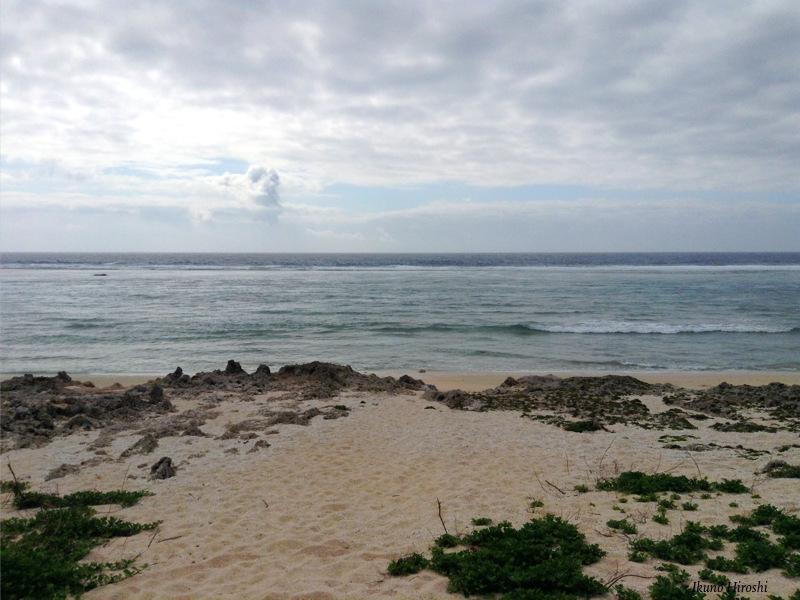 久高島東側の浜
