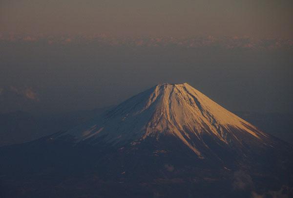 富士山空撮(仙台→伊丹)