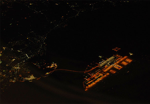 中部国際空港空撮