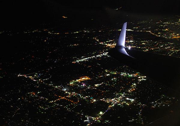 盛岡南部の夜景