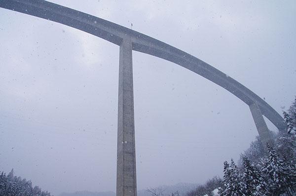 日本一の橋脚高