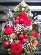 クリスマスリース1