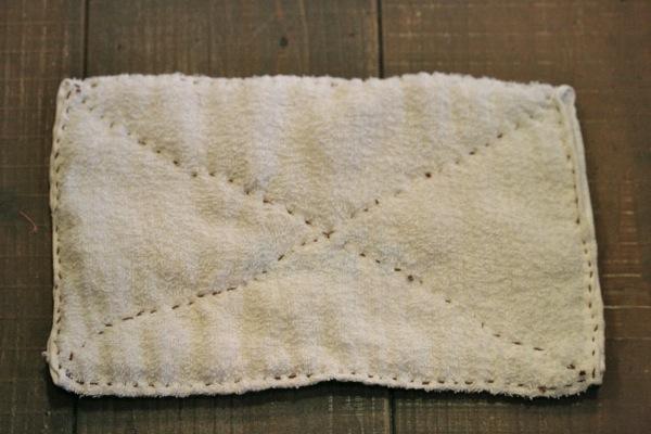雑巾縫い運針