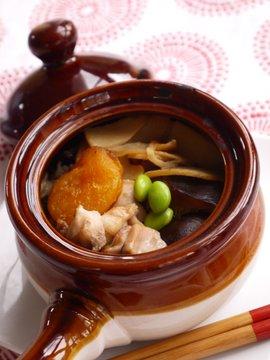 Kamameshi in the recipe