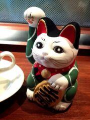 唐草招き猫
