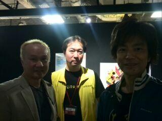 D3鈴木オーナー&YMO楽器展主催者小林社長&バース