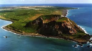 硫黄島全景