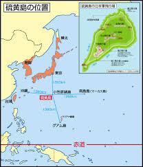 硫黄島の位置