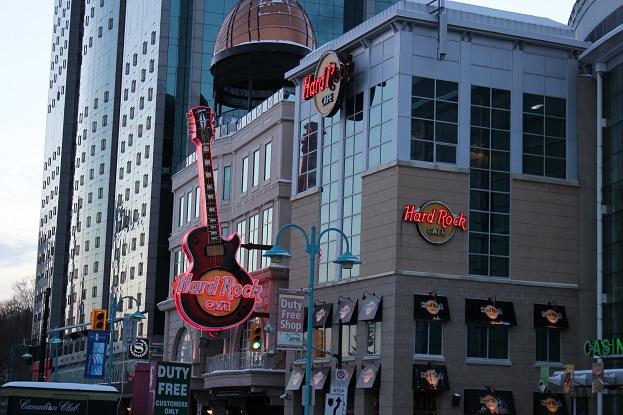 2015カナダ旅行:0213トロント ハードロックカフェ