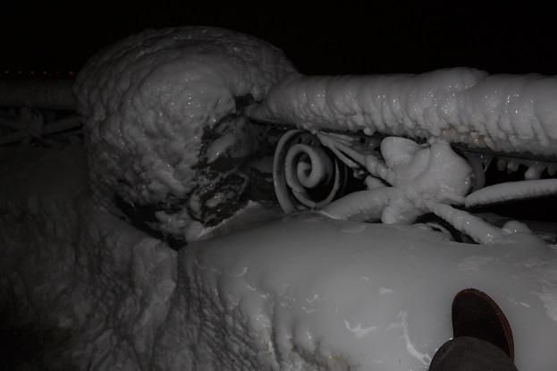 2015カナダ旅行:0213トロント テーブルロック ナイアガラの滝 氷