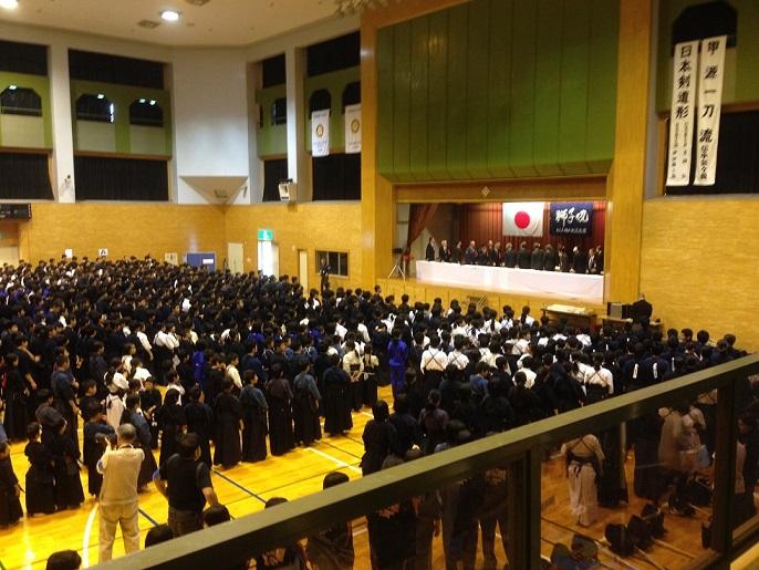 松山地区剣道大会