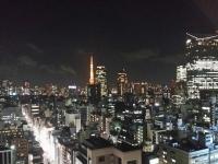新橋からの夜景