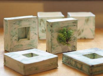 花と緑の器たち_野田3