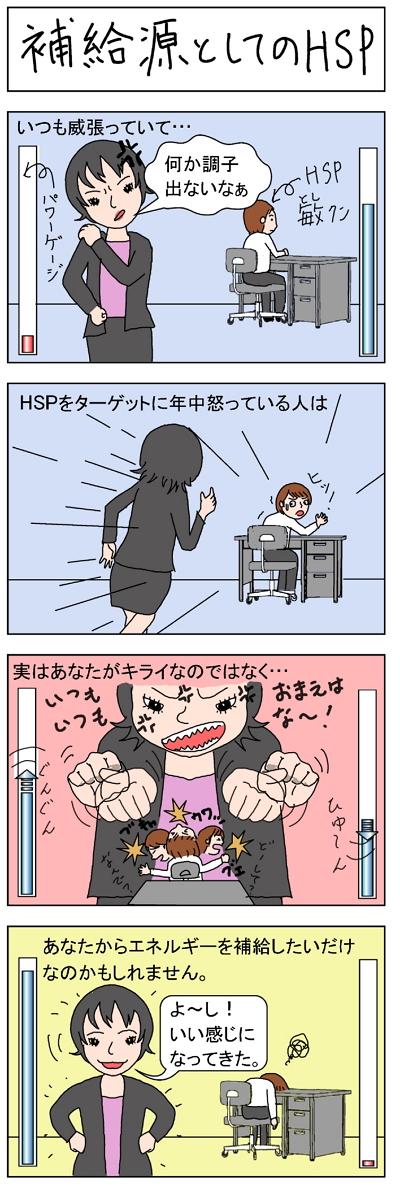 補給源としてのHSP