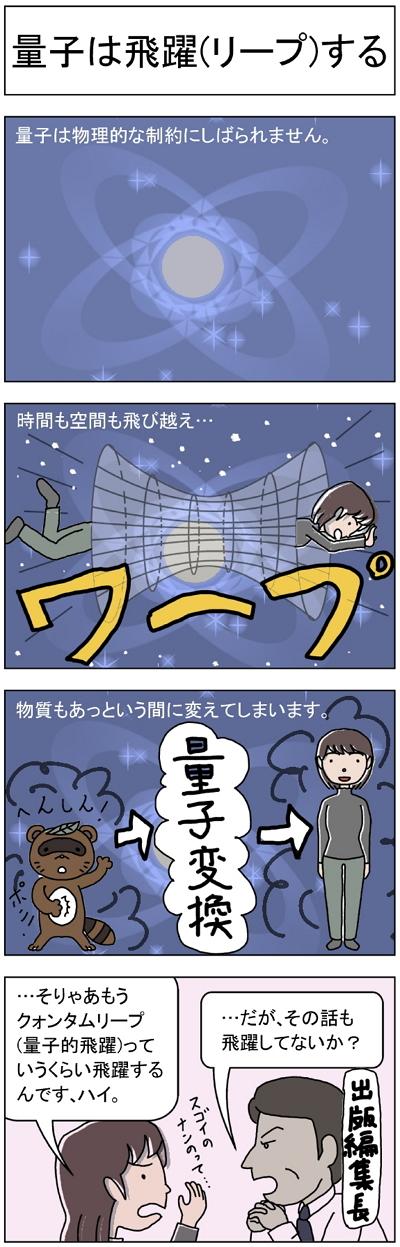量子は飛躍する