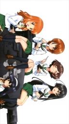 i278917 akiyama_yukari girls_und_panzer isuzu_hana nishizumi_miho reizei_mako seifuku sugimoto_isao takebe_saori thighhighs