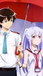 i_322175 isla kikuchi_ai mizugaki_tsukasa plastic_memories umbrella uniform