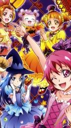 i268830 aida_mana animal_ears calendar dokidoki!_precure halloween hishikawa_rikka kenzaki_makoto madoka_aguri pretty_cure takahashi_akira witch yotsuba_alice