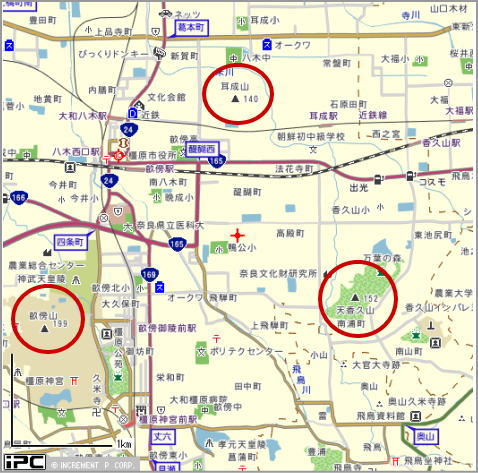 15.1.1大和三山地図