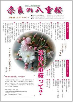奈良の八重桜14号1ページ