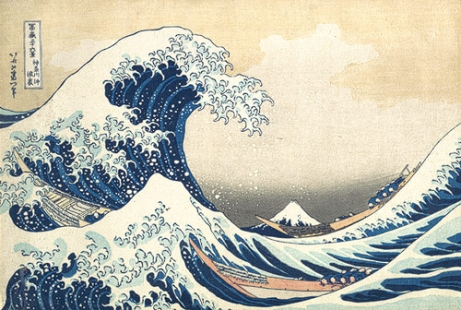 hokusai big wave