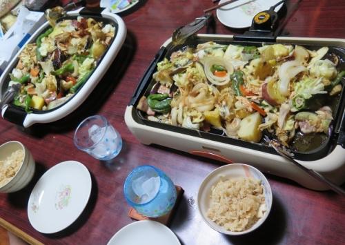 鯛飯とチャンチャン焼き