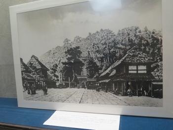お寺の展示品