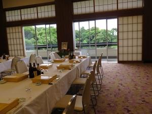 お寺のレストラン